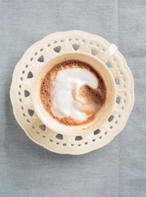 Photo Milk Chocolate Coffee with Hazelnut Froth
