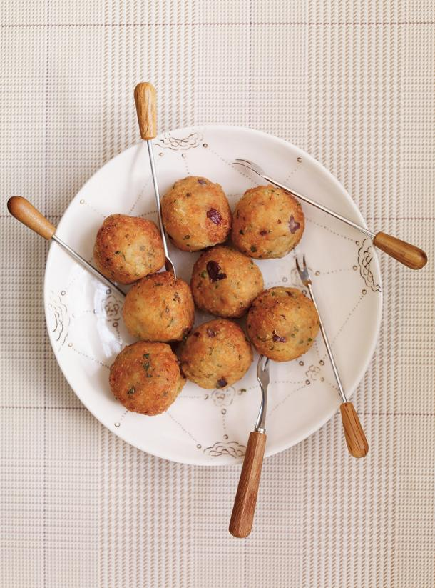 Photo Vegetarian Meatballs