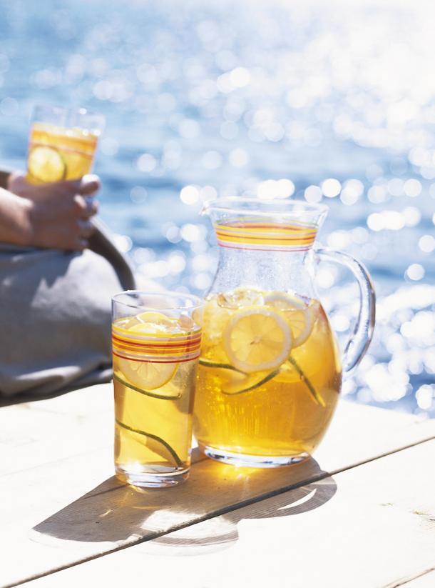Photo Iced Lime Green Tea