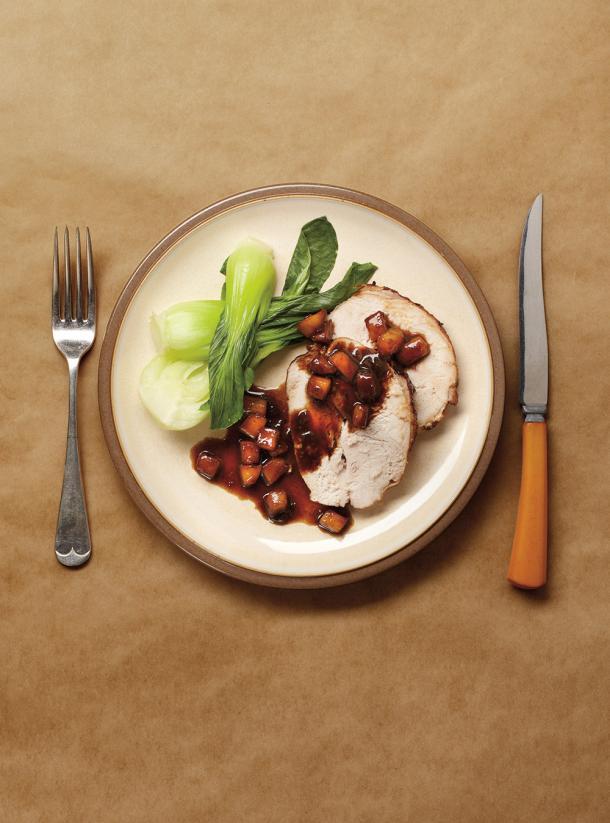Photo Apple and Balsamic Turkey Roast