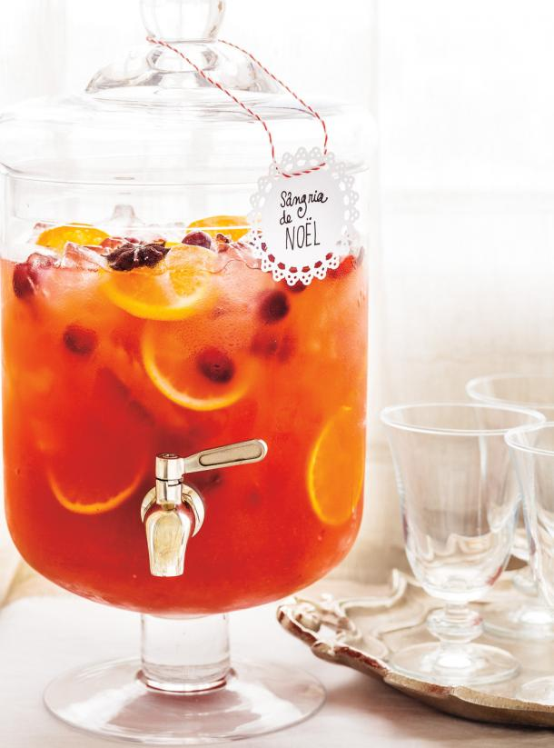 Photo Christmas Sangria