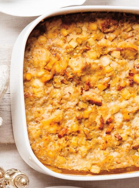 Farce traditionnelle aux pommes et aux saucisses les - Ricardo cuisine concours ...