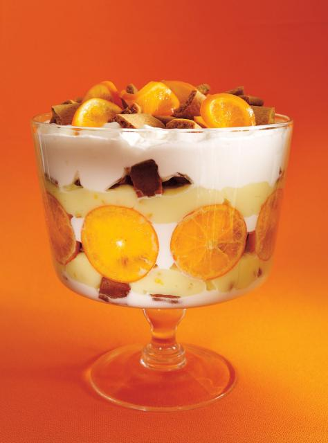 Clementine and Gingerbread Cookie Trifle | Ricardo's Best Holiday ...
