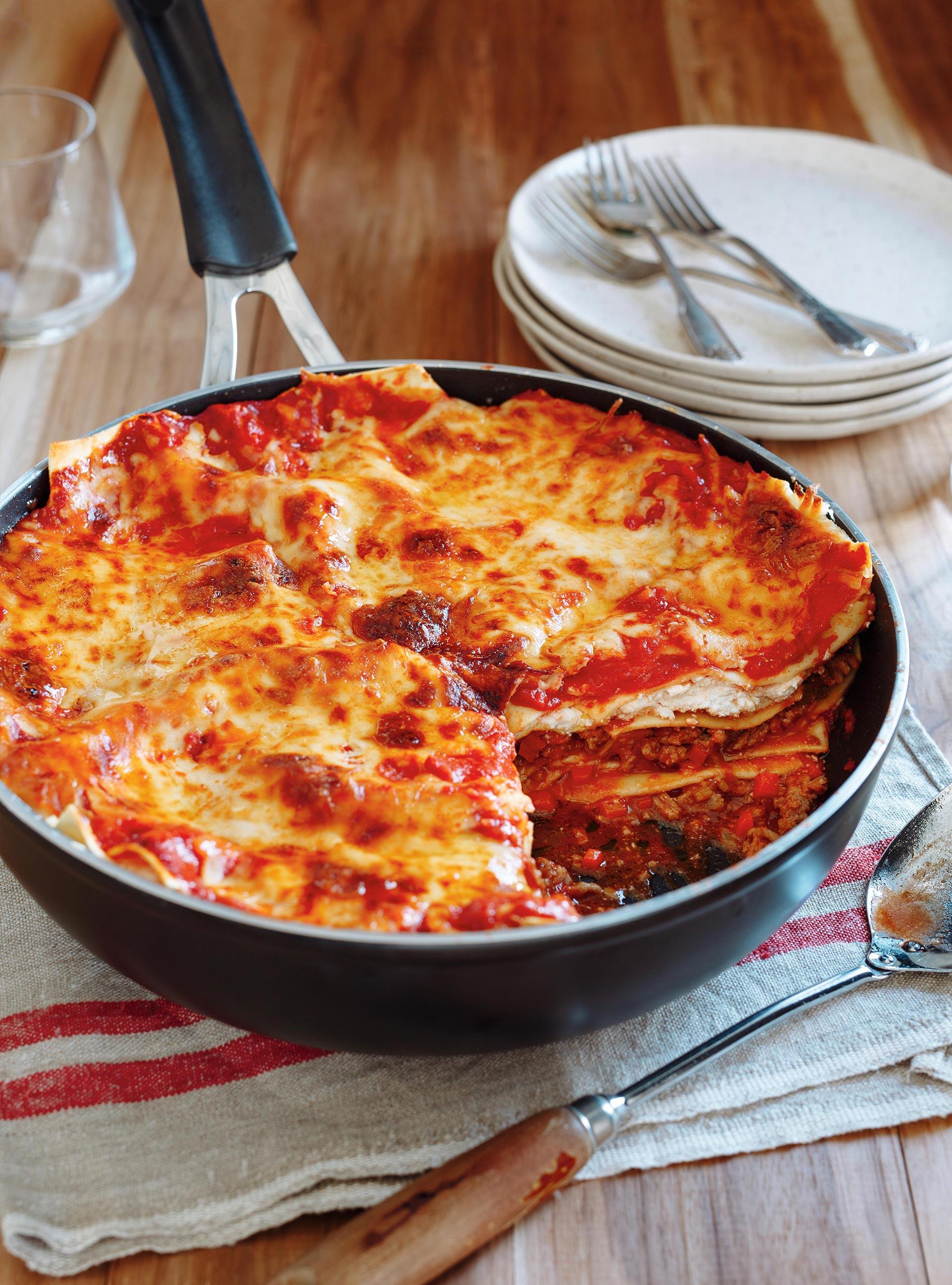 One Pot Lasagna Ricardo