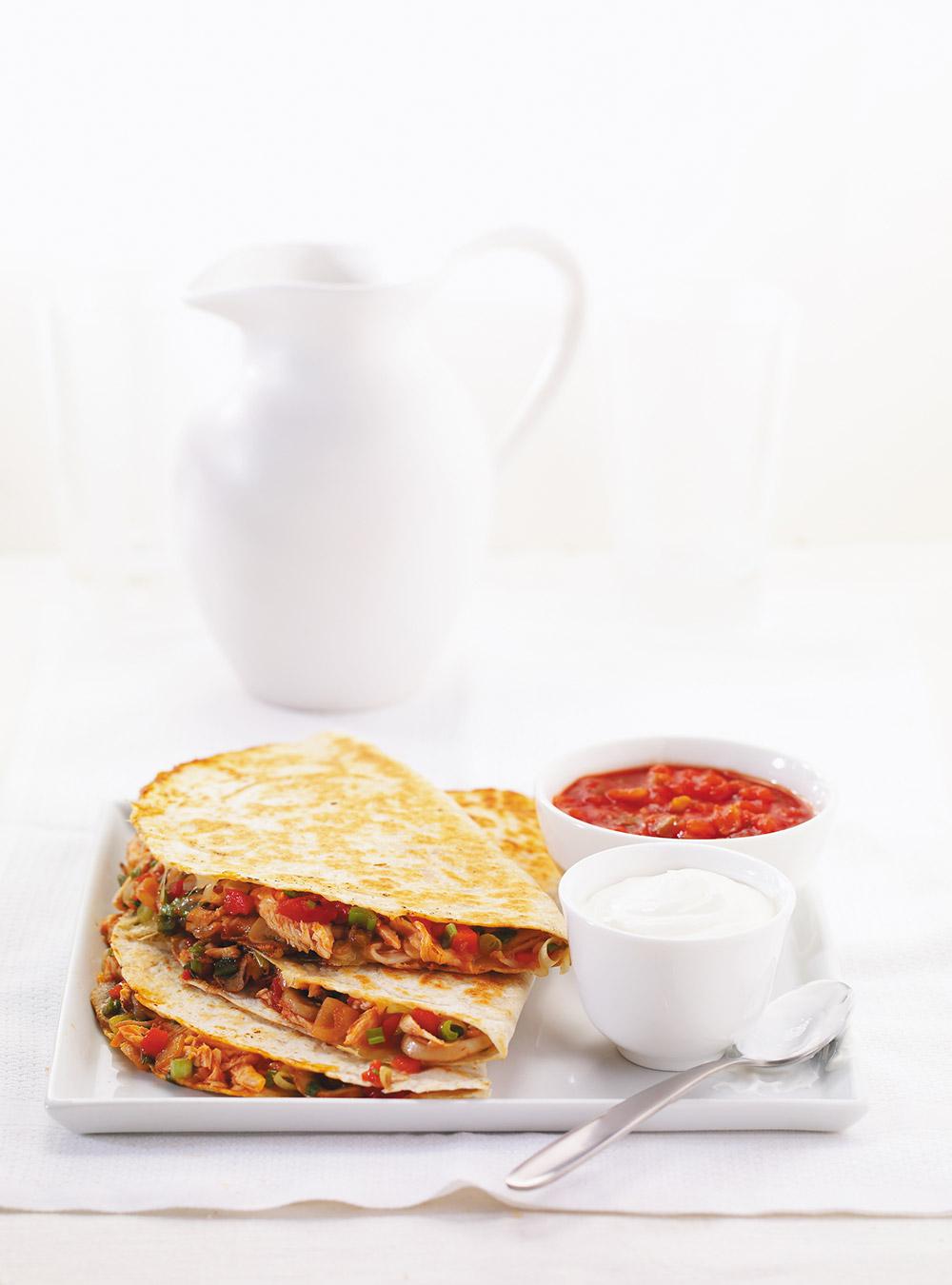 Chicken quesadillas ricardo for Cuisine ricardo
