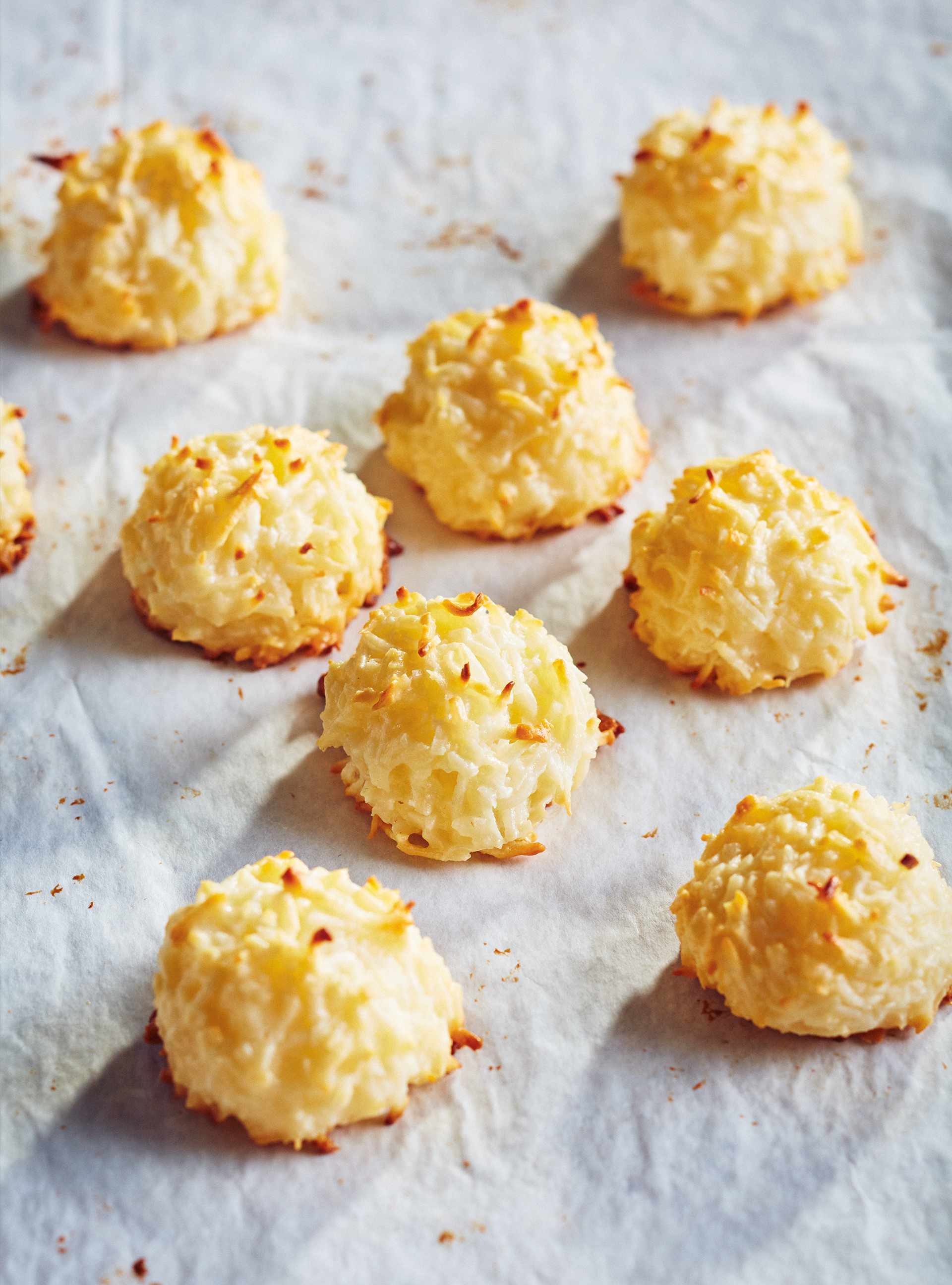Egg- and Gluten-Free Coconut Macaroons