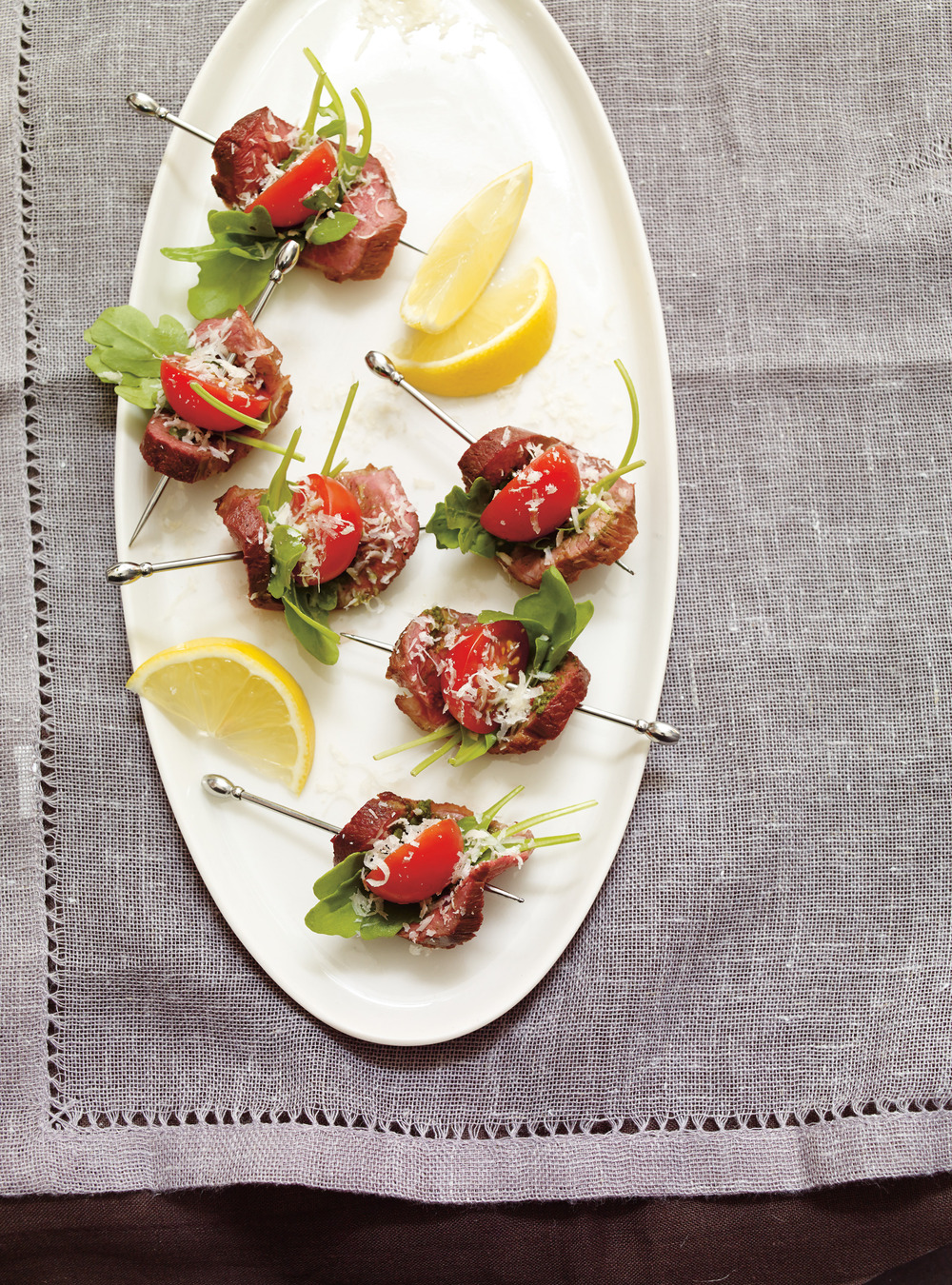 Pesto, Tomato and Duck Hors d'oeuvres | Ricardo