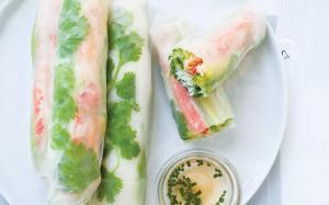 Making Your Own Spring Rolls