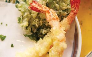 Pour du tempura maison