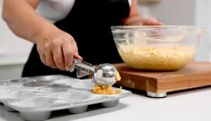 Muffins salés aux carottes et à la feta