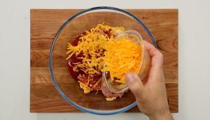 Pain de viande au fromage cheddar