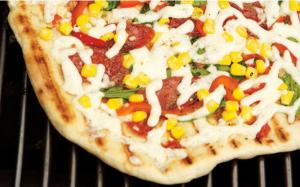 Pour une pizza sur le barbecue