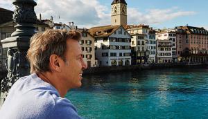 Ricardo à Lausanne, en Suisse