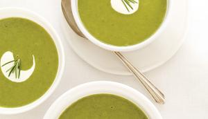 Cream of Green Vegetable Soup