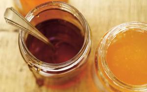 Mesurer les ingrédients collants