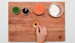 Blinis aux carottes