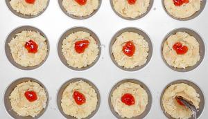 Jam and Coconut Crunch Cookies