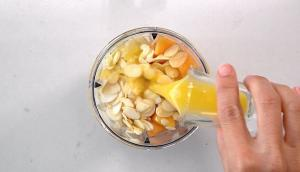 Smoothie mangue et cantaloup
