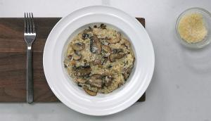 Risotto aux champignons à l'autocuiseur