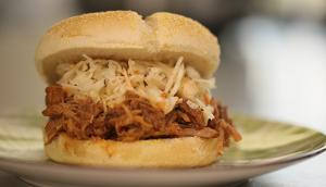 Pressure Cooker Barbecue Pulled Pork