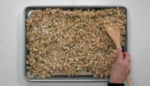 Granola au riz croustillant