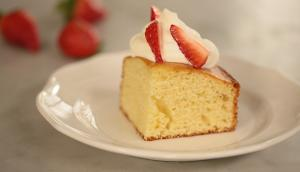 Super Easy Vanilla Cake