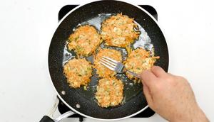 Sweet Potato and Tofu Patties