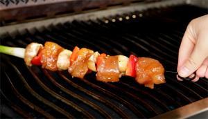 Chicken Skewers with Hoisin Sauce