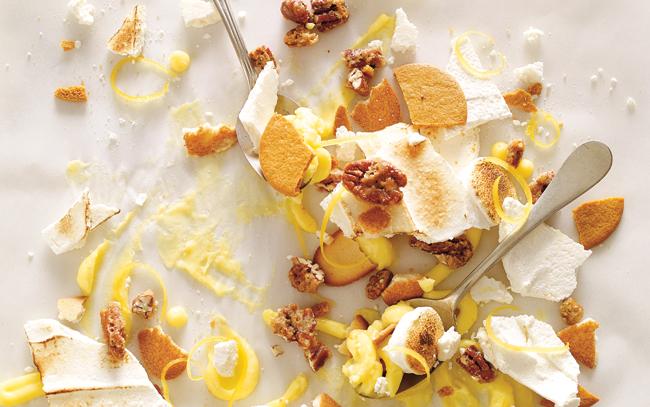 Tarte au citron d construite le montage ricardo - Tarte au citron herve cuisine ...