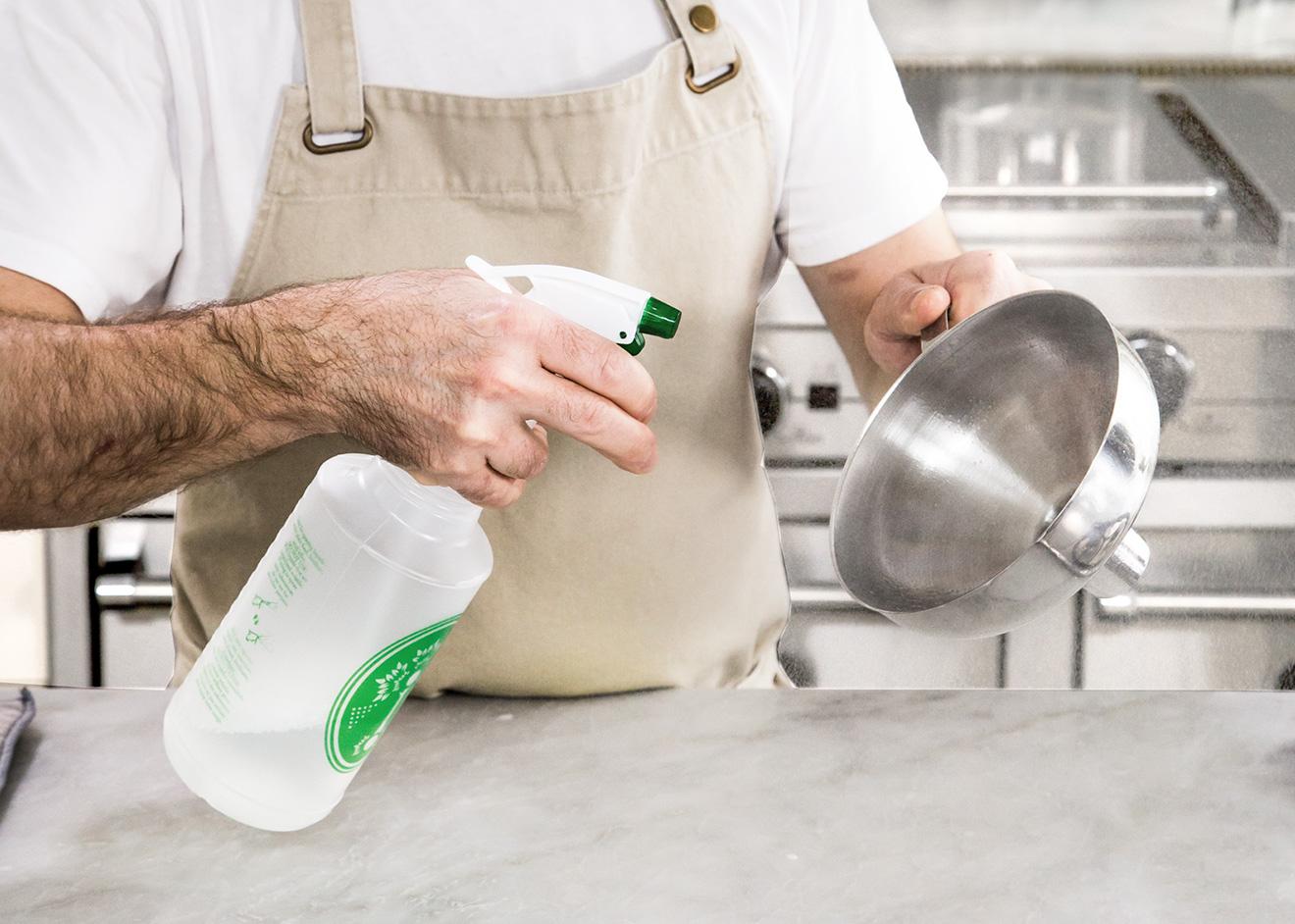 step 4 - sanitary precautions
