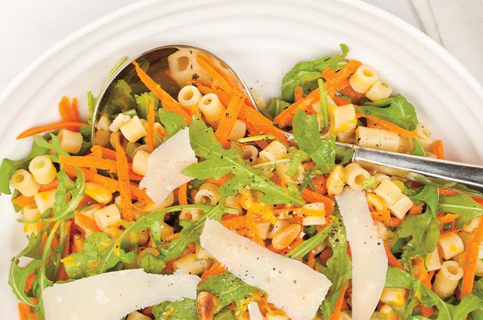 Salade de pâtes aux agrumes
