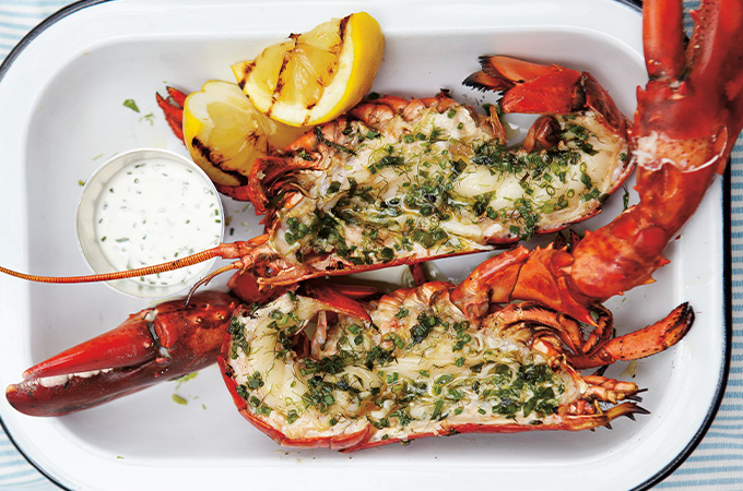 Griller du homard