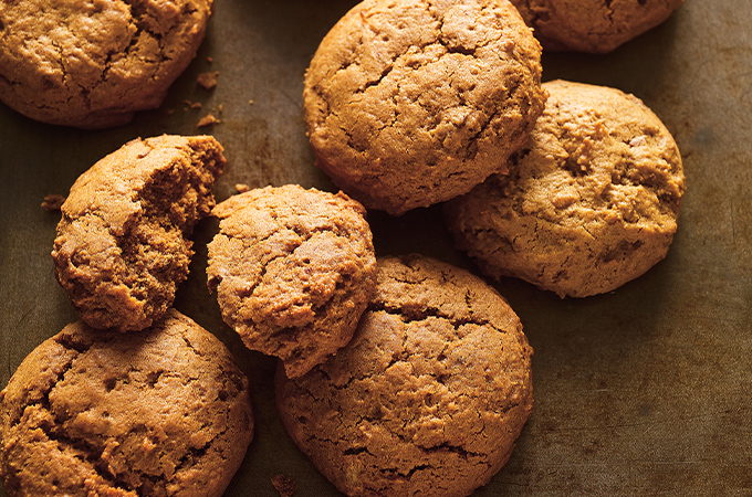 Egg-Free and Dairy-Free Molasses Cookies