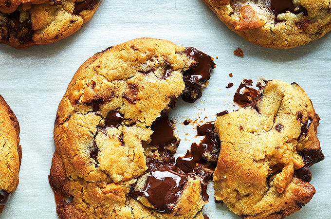 Biscuits moelleux s'mores au beurre noisette