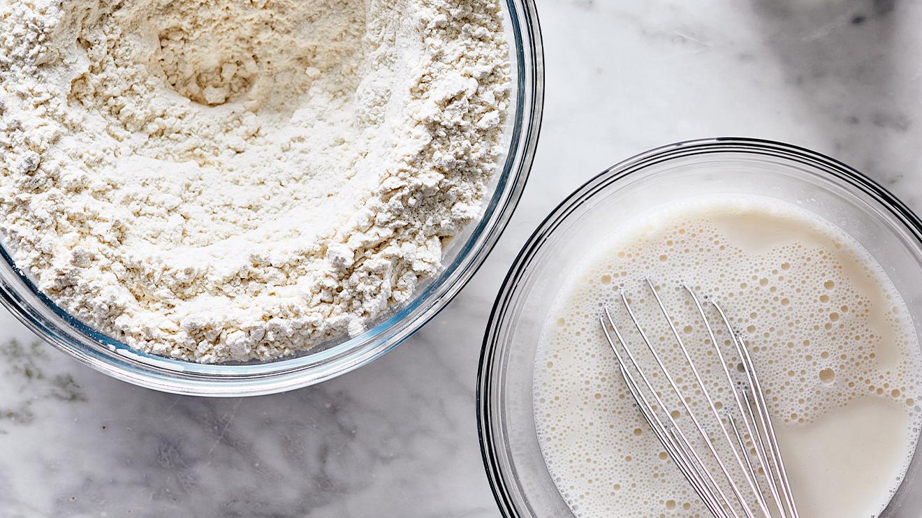 sourdough bread - whisk