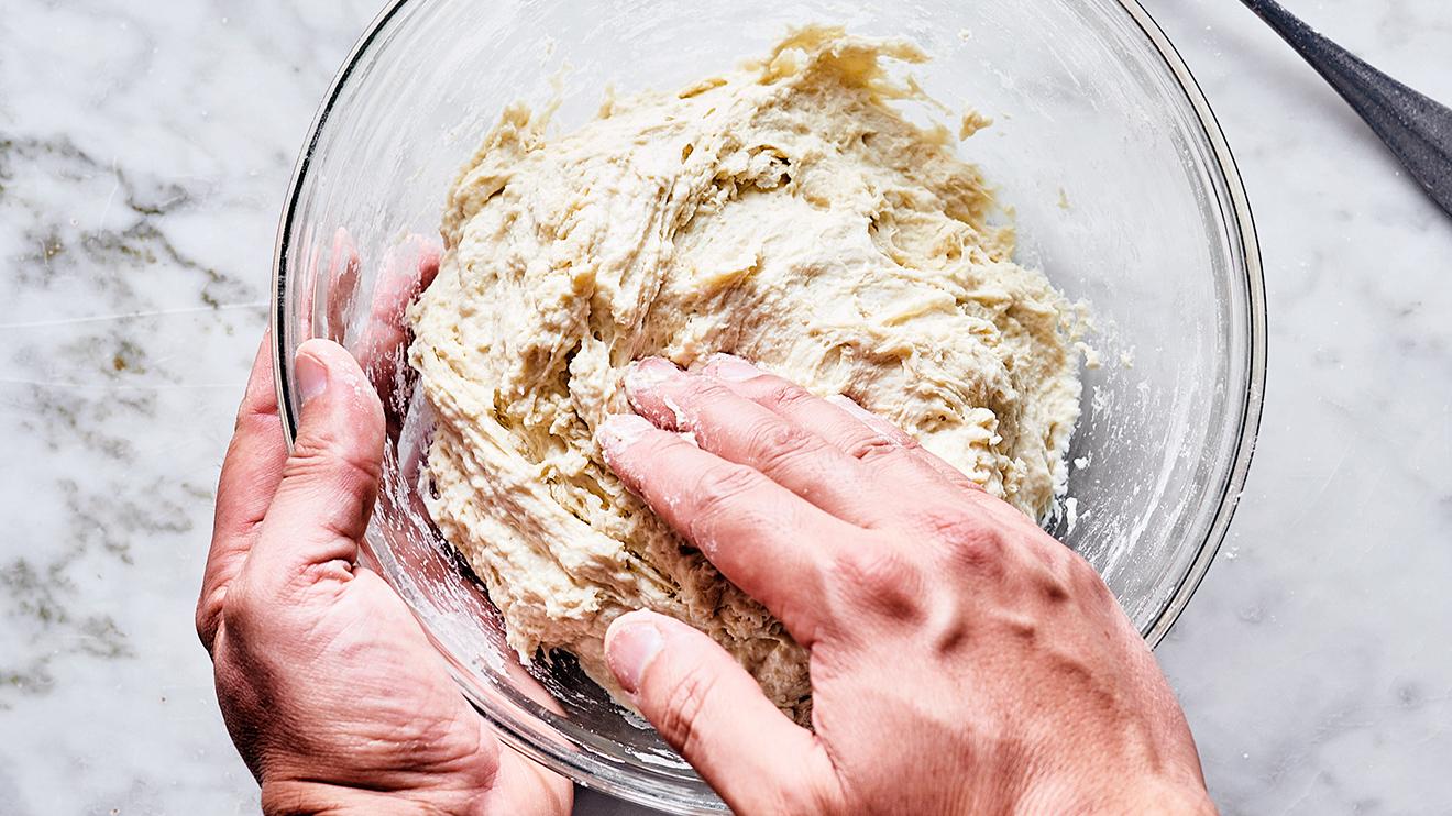 sourdough bread - mix