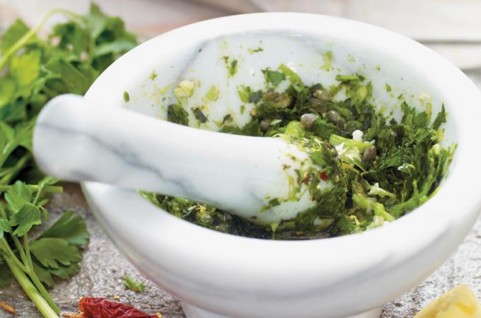 Salsa verde italienne