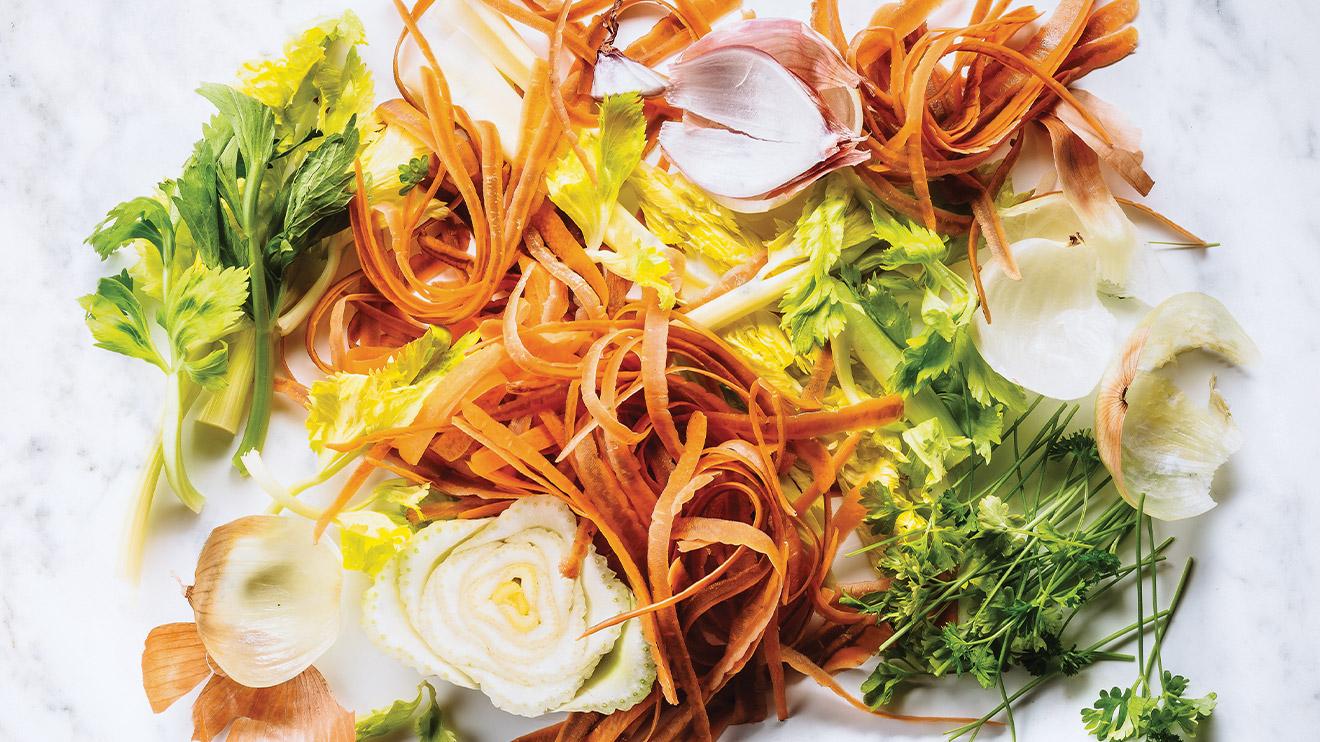retailles de légumes