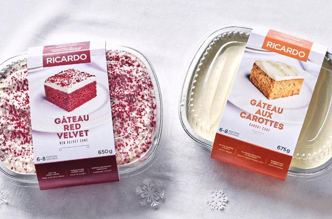 gâteaux barquettes en épicerie
