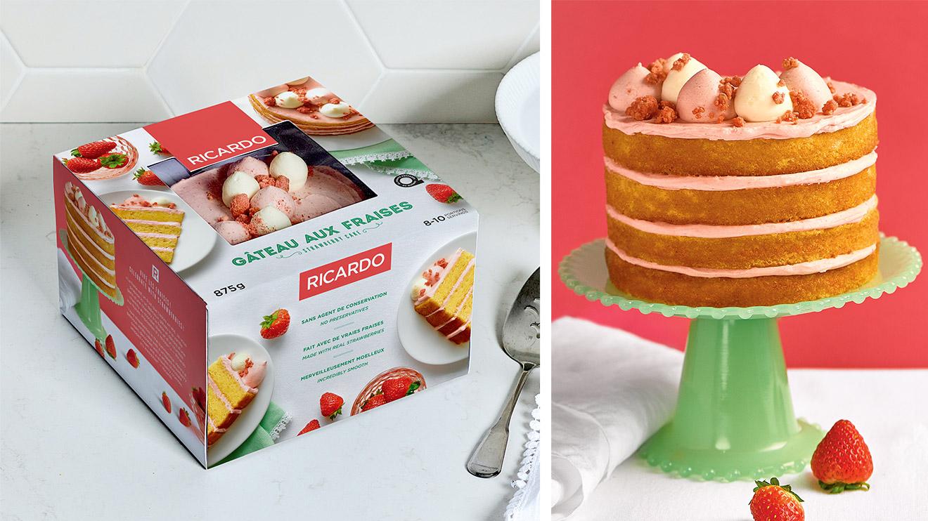 Gâteaux fraises