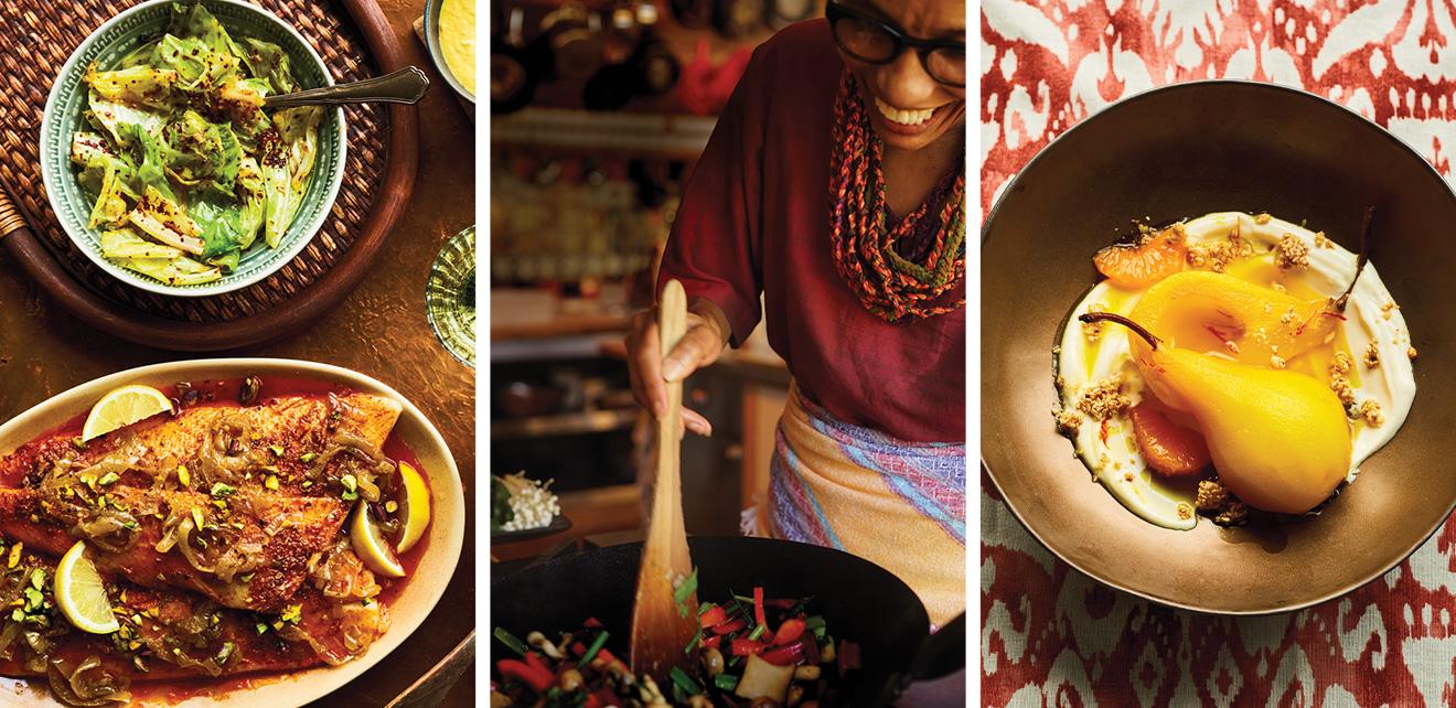 Les plats colorés d'Ethné