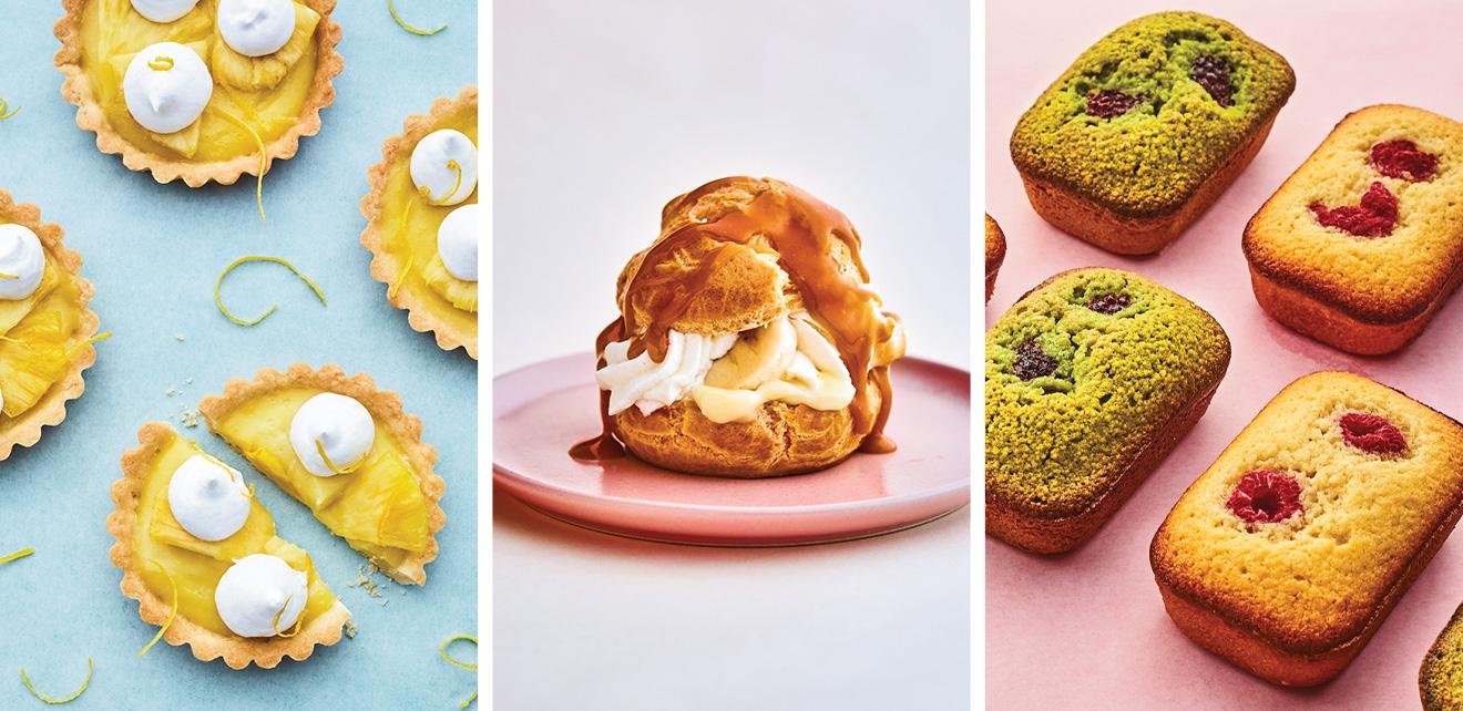 Desserts classiques, saveurs exotiques