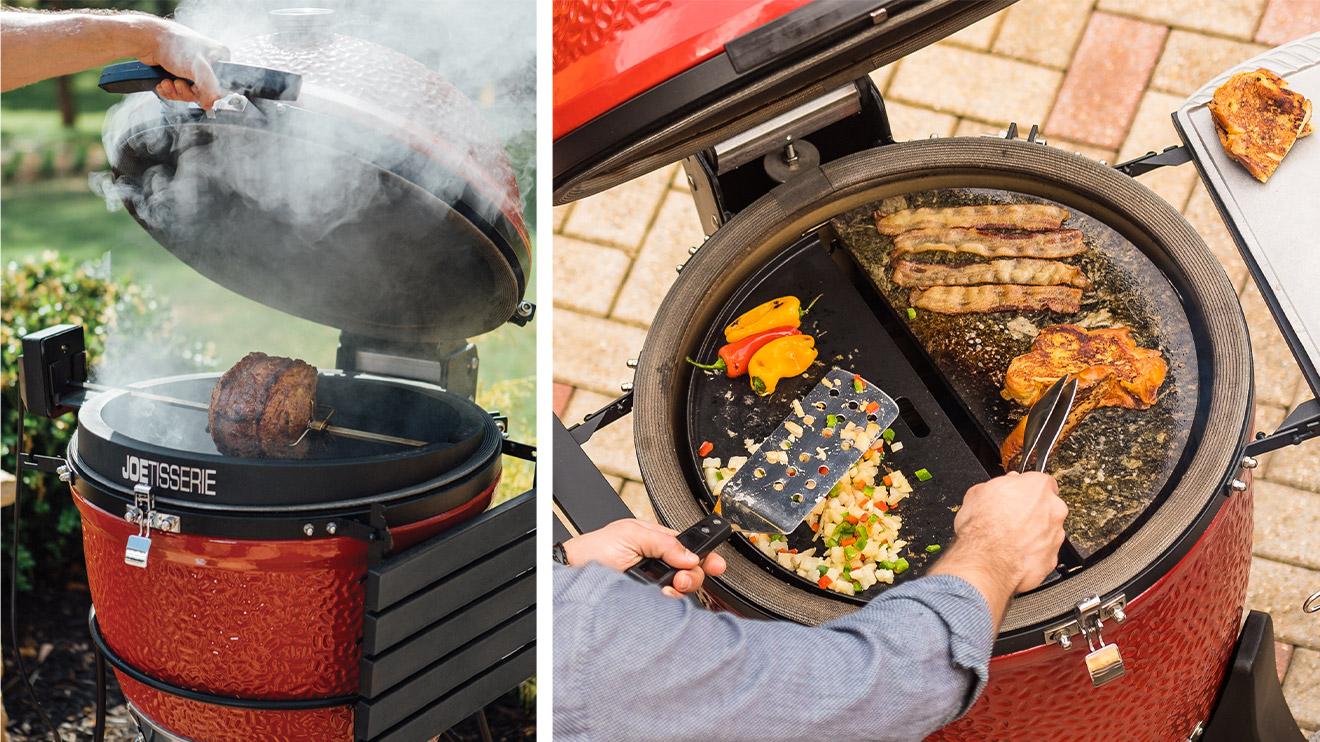 utilisations barbecue de type Kamado