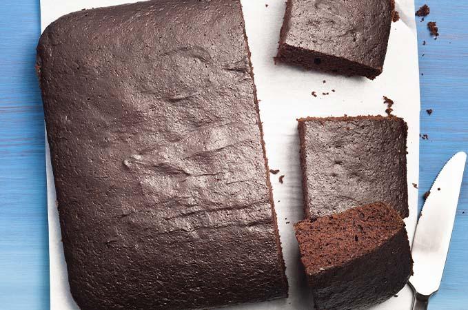 Gâteau au chocolat sans salir un bol