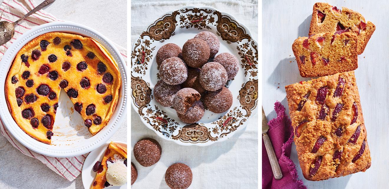 Des desserts dans un bol