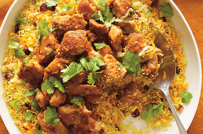 Couscous express au poulet