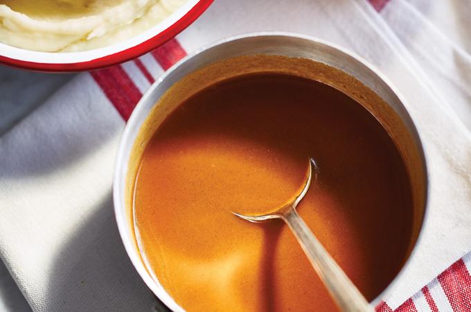 Sauce brune rapide (de type gravy)