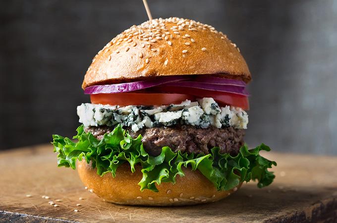 Burgers au bleu