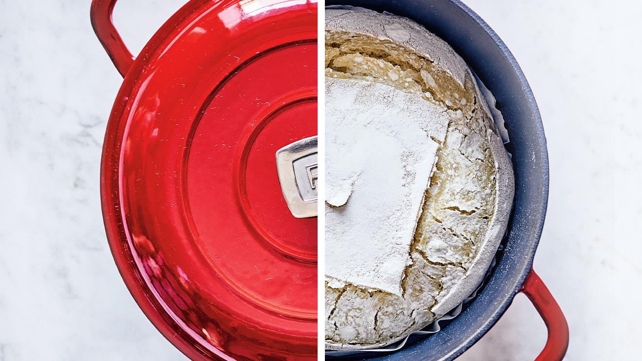 sourdough bread - bake