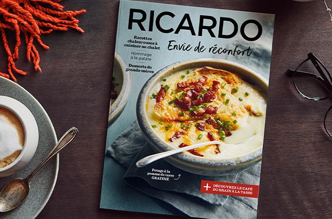 Envie soudaine de réconfort avec le nouveau magazine RICARDO